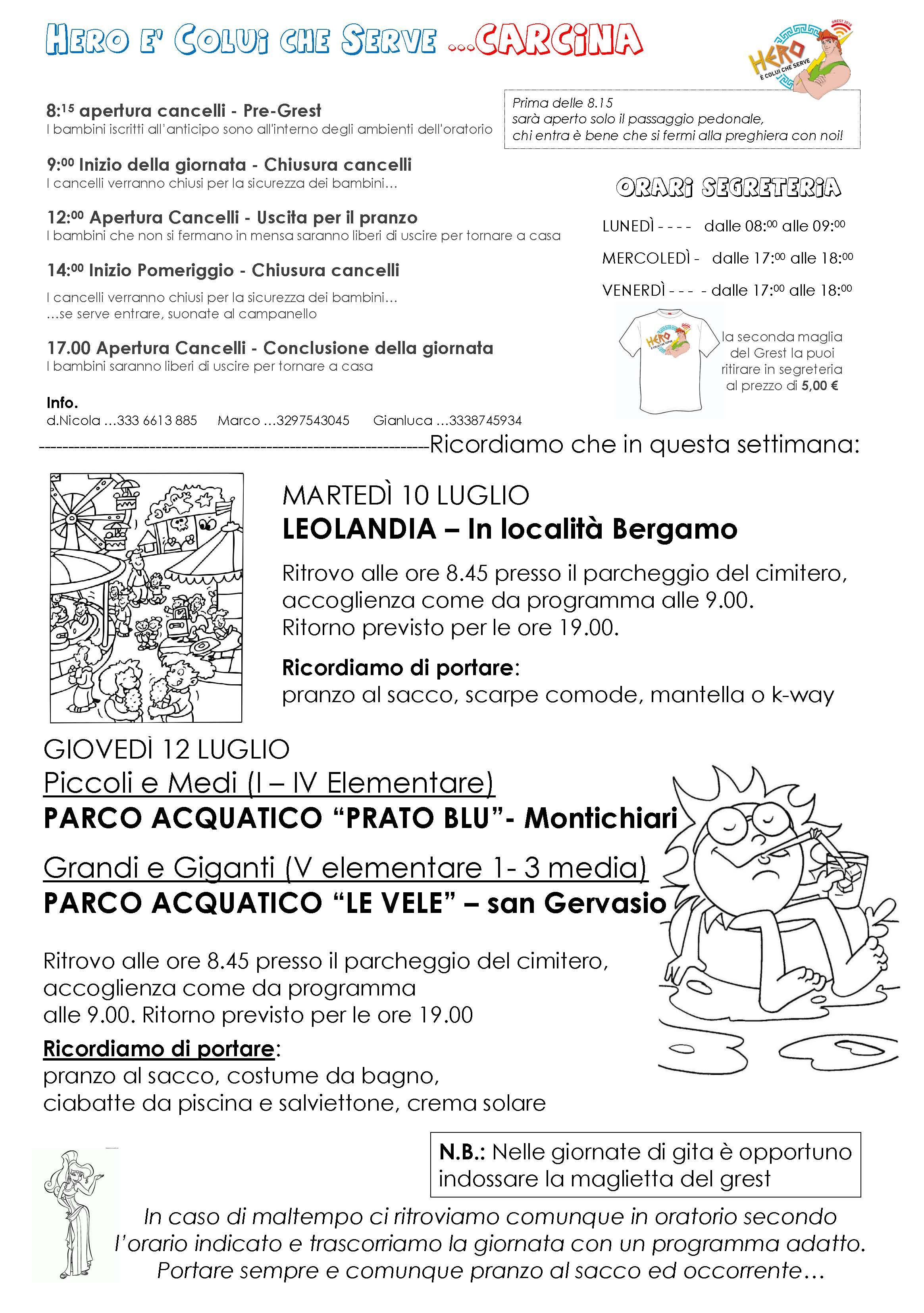 Genitori Carcina_ 3 Settimana