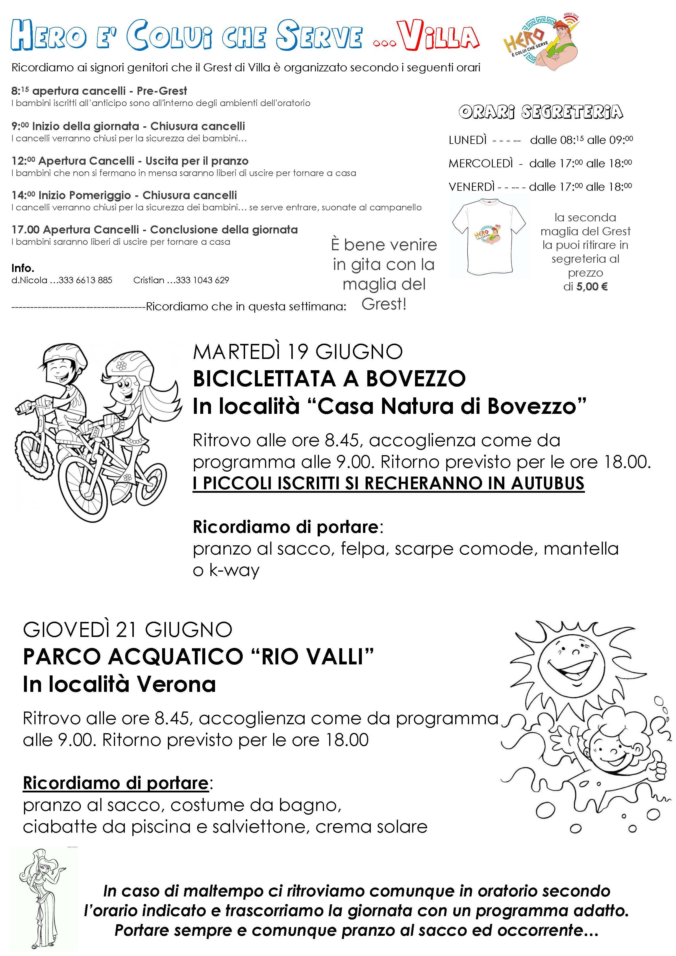 Genitori Villa_ 2 Settimana