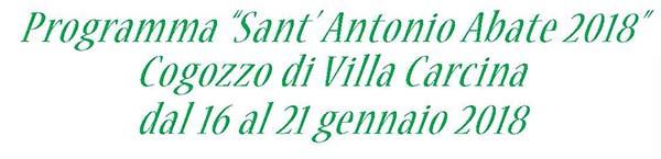 Sant' Antonio 2018 new